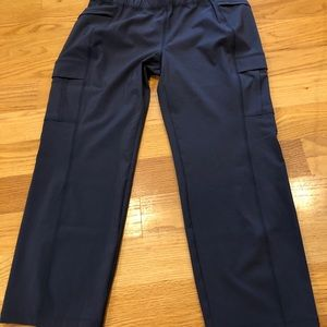 NWT Eddie Bauer Incline crop pant size 10 grey